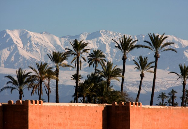 photo rempart marrakech