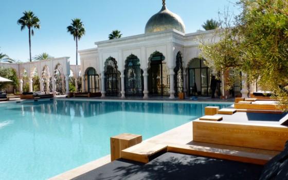 piscine marrakech palais namascar