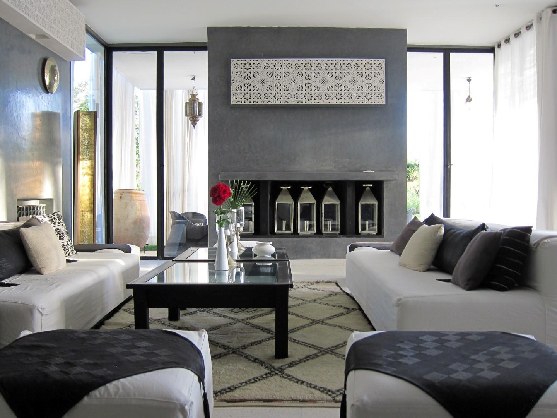 Location villa marrakech : villa design ataraxia