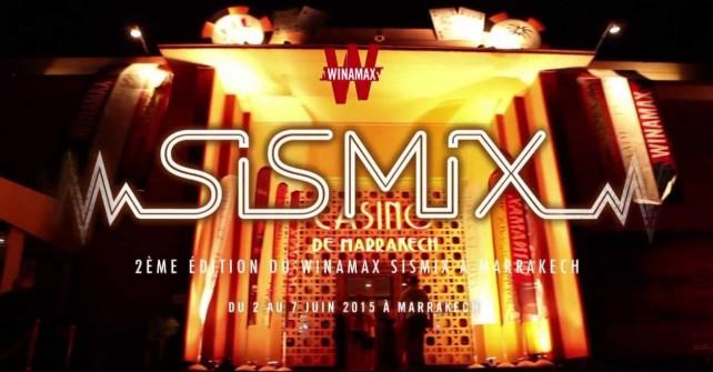 SISMIX Marrakech 2015 :  2ème édition du célèbre tournoi de poker